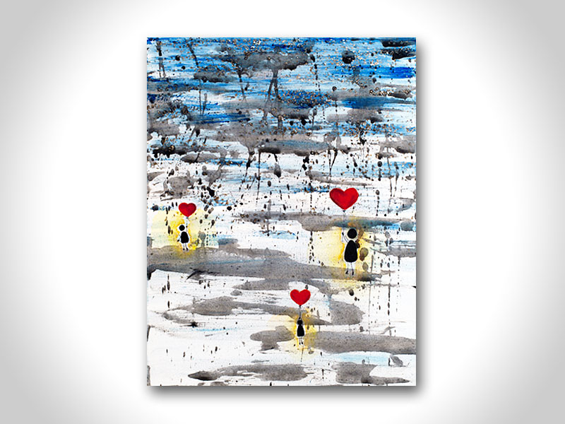 Marie Tomeoki - Art For Sale - Float On Love IMG