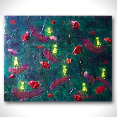Marie Tomeoki - Art For Sale - Wild Poppy IMG