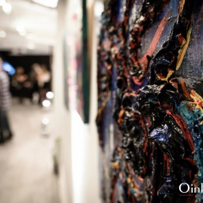 Marie Tomeoki - Gallery Exhibition Image - Being 526453_338154836240808_1429933697_nabc